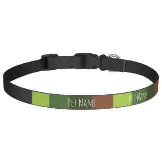 Camo Stripe Dog Collar