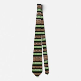 Camo Stripes Print Neck Tie