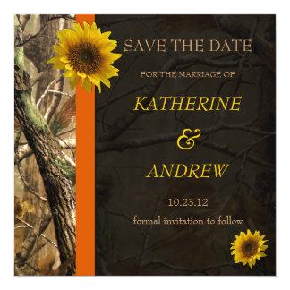 Camo & Sunflowers Announcement