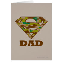 Camo Super Dad Card