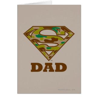 Camo Super Dad Card