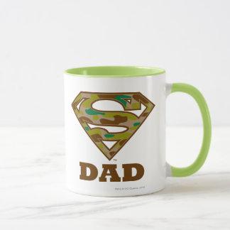 Camo Super Dad Mug