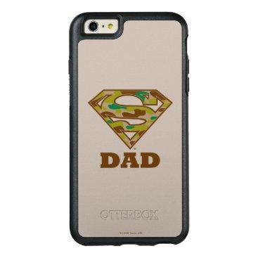 Camo Super Dad OtterBox iPhone 6/6s Plus Case