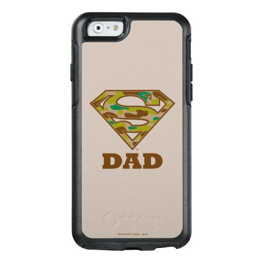 Camo Super Dad OtterBox iPhone 6/6s Case