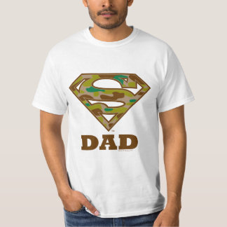 Camo Super Dad T-Shirt