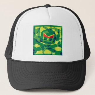 Camo Swede in green Trucker Hat