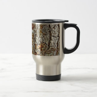 Camo Tree Bark Travel Mug