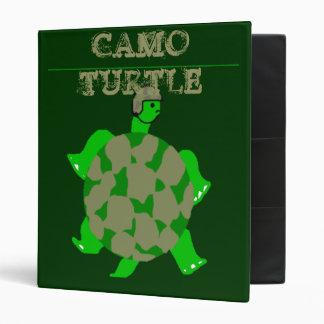 Camo Turtle Binder