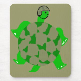 Camo Turtle Mousepsd Mouse Pad