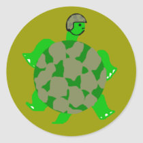 Camo Turtle Stickers