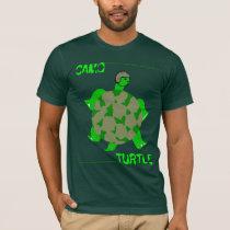 Camo Turtle T-Shirt