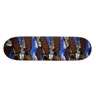 Camo urbano tabla de skate