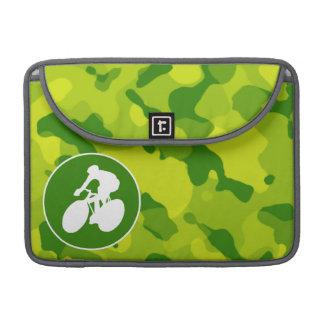 Camo verde; Ciclo Fundas Para Macbooks
