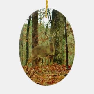 Camo verde, ciervo del camuflaje ornamentos de reyes