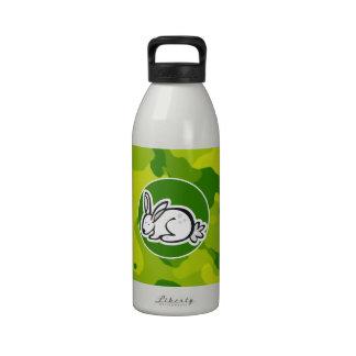 Camo verde; Conejo de conejito Botella De Beber