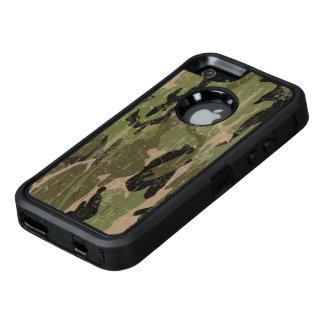 Camo verde descolorado funda OtterBox defender para iPhone 5
