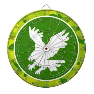 Camo verde Eagle Tablero De Dardos