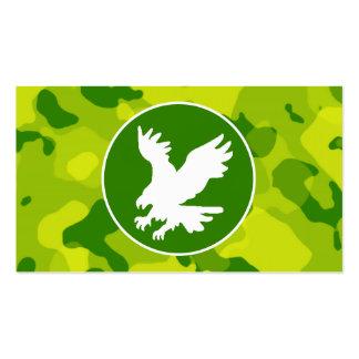 Camo verde; Eagle Tarjetas De Visita