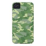Camo verde iPhone 4 carcasa