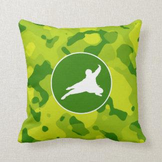 Camo verde; Ninja Almohadas