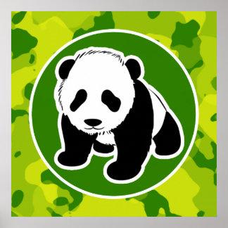Camo verde; Panda Impresiones