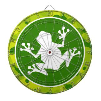 Camo verde Rana Tabla Dardos