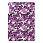 Camo violeta iPad mini cárcasa