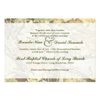 Camo Wedding Invitation (<em>$1.75</em>)
