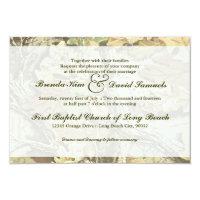Camo Wedding Invitation (<em>$1.86</em>)