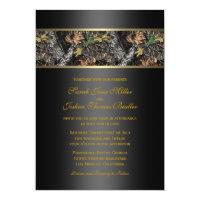 Camo Wedding Invitations (<em>$2.01</em>)