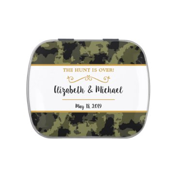 Camo Wedding - The Hunt is Over Candy Tin