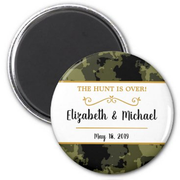 Camo Wedding - The Hunt is Over Magnet