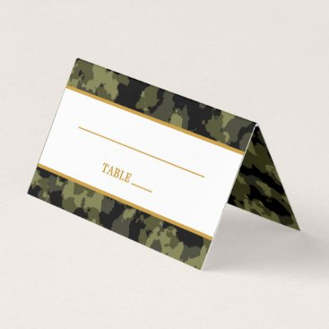 Camo Wedding - The Hunt is Over Place Card