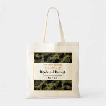 Camo Wedding - The Hunt is Over Tote Bag