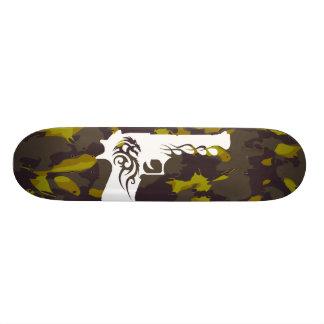 camo, white gun 1 skateboard decks