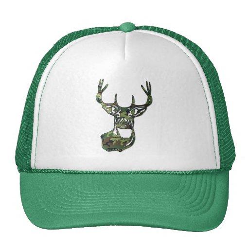 Camo - White Tail Buck Deer Hats