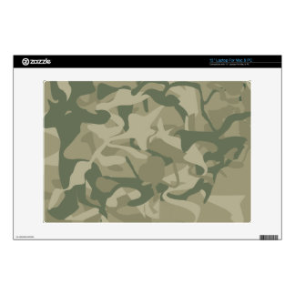 """Camo Wilderness Military Masculine Design Decal For 13"""" Laptop"""
