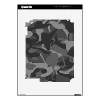 Camo Wilderness Military Masculine Design Decal For The iPad 2