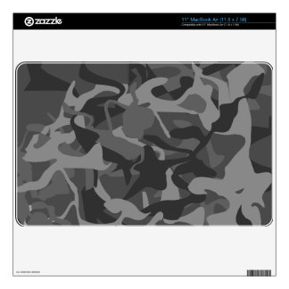 Camo Wilderness Military Masculine Design Decals For MacBook Air