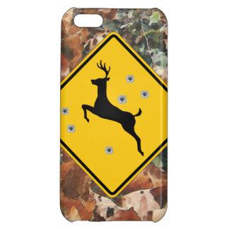 camo with deer crossing case