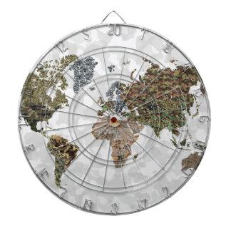 CAMO WORLD ATLAS MAP DART BOARDS