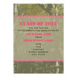 Camo y clase rosada de la invitación 2012 de la gr