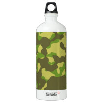 Camoflage 2 water bottle