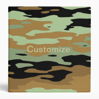 Camoflage Binder template