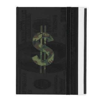 Camoflage Money Symbol iPad Covers