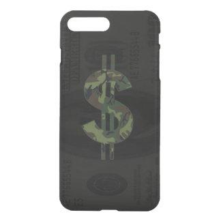 Camoflage Money Symbol iPhone 8 Plus/7 Plus Case