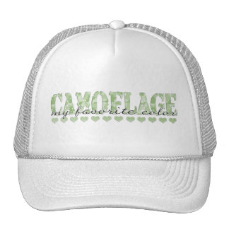 CAMOFLAGE my favorite color Trucker Hat