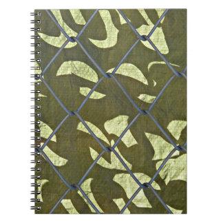 Camoflague Notebook