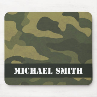Camoflauge Mouse Pad