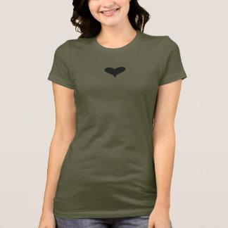 camoflauge shirt with heart